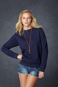 Anvil women's setin sweatshirt