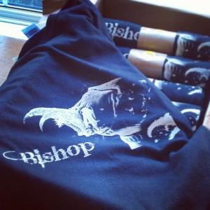 Black gildan heavy shirts for Bishop