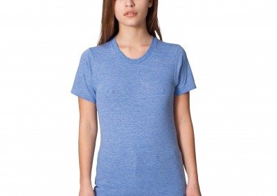 American Apparel Unisex triblend short sleeve track T (TR401)