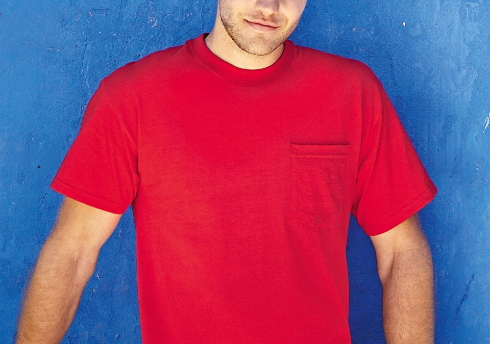 Fruit Of The Loom Heavy Pocket T-Shirt (61202)