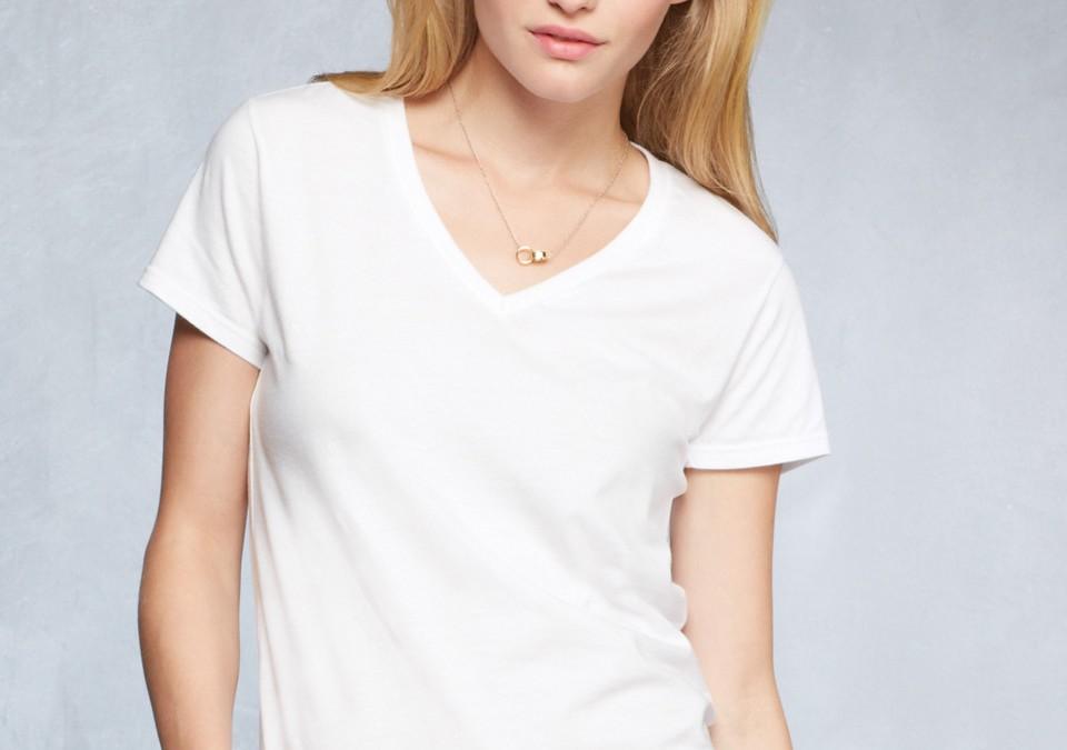 88VL Anvil Women's Fashion V-Neck T-Shirt